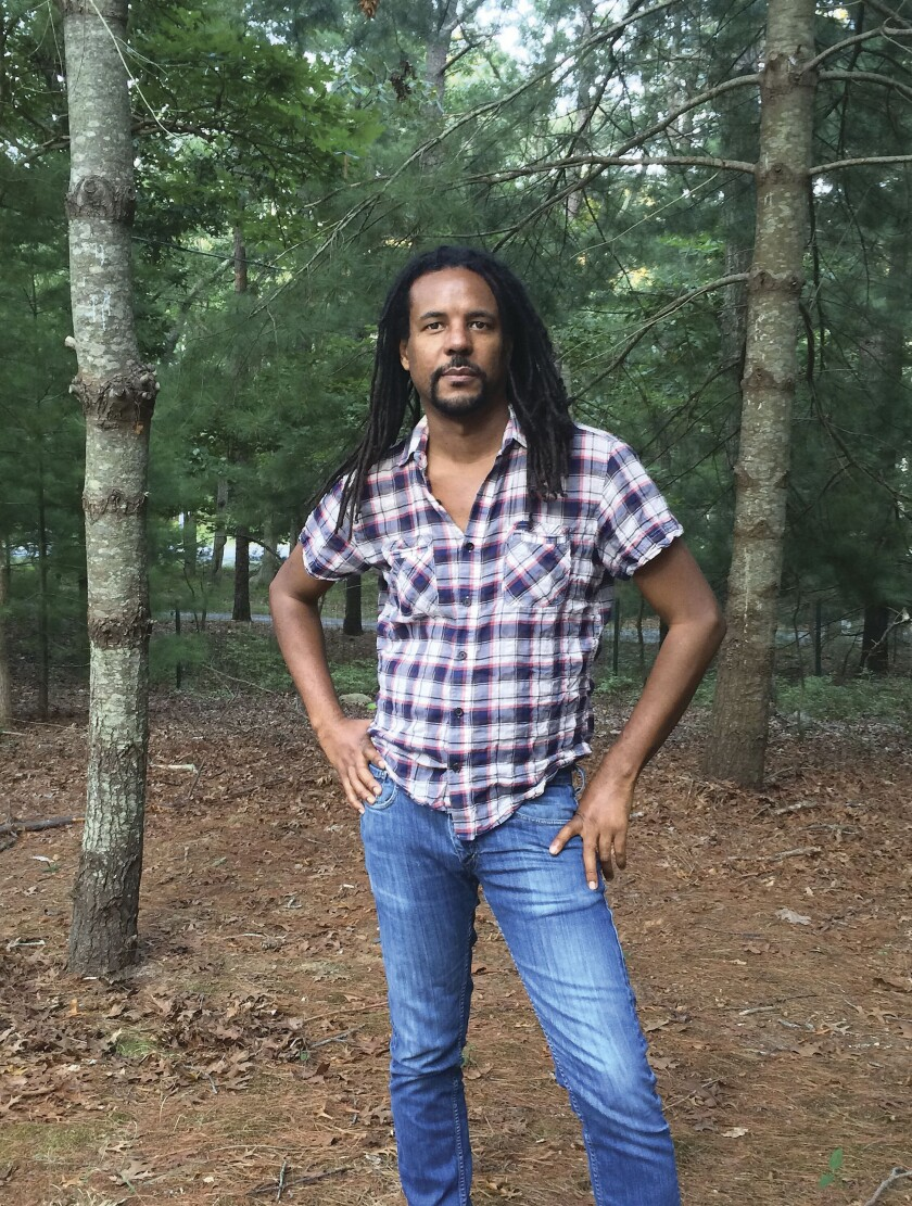 """This image released by Doubleday shows a portrait of author Colson Whitehead, author of """"The Nickel Boys,"""" winner of the Pulitzer Prize for Fiction. (Madeline Whitehead/Doubleday via AP)"""