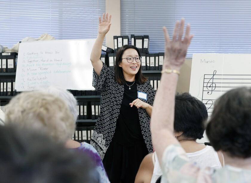 Photo Gallery: Verdugo Hills Women's Chorus summer fun sing