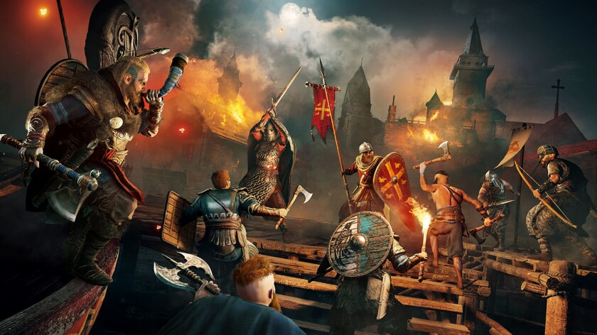 "Explore England as a Viking raider in ""Assassin's Creed Valhalla."""