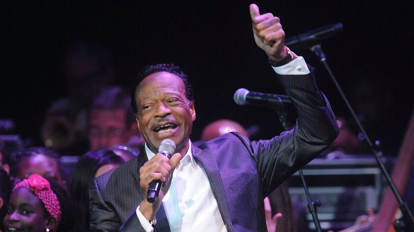 Along with Andrae Crouch, James Cleveland and a handful of others, Edwin Hawkins, above, was credited as a founder of modern gospel music.