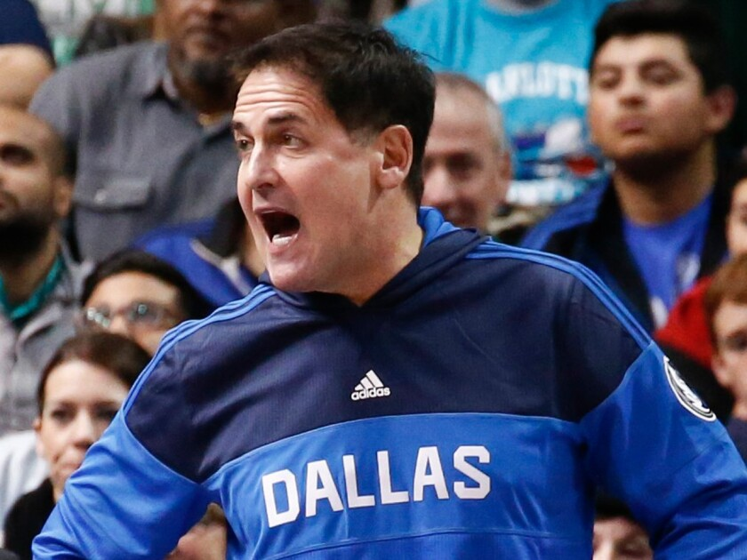 Mavericks owner Mark Cuban knocks Clippers before game Thursday night