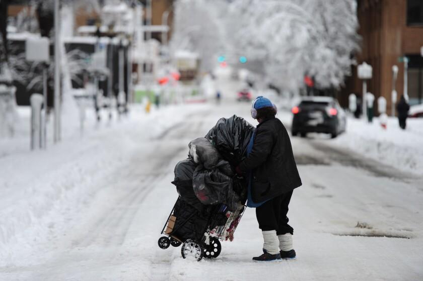 Portland homeless