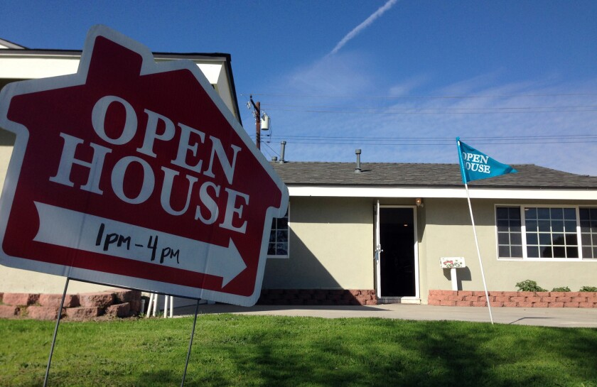 Home Sales Drop To 19 Month Low Amid Bad Weather Higher Prices Los Angeles Times
