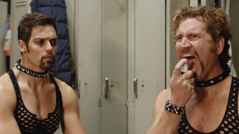 """Ryan Bottiglieri as Jody Lackey and Britt George as Ronnie Lackey in the film """"Hells."""" Credit: Indie"""