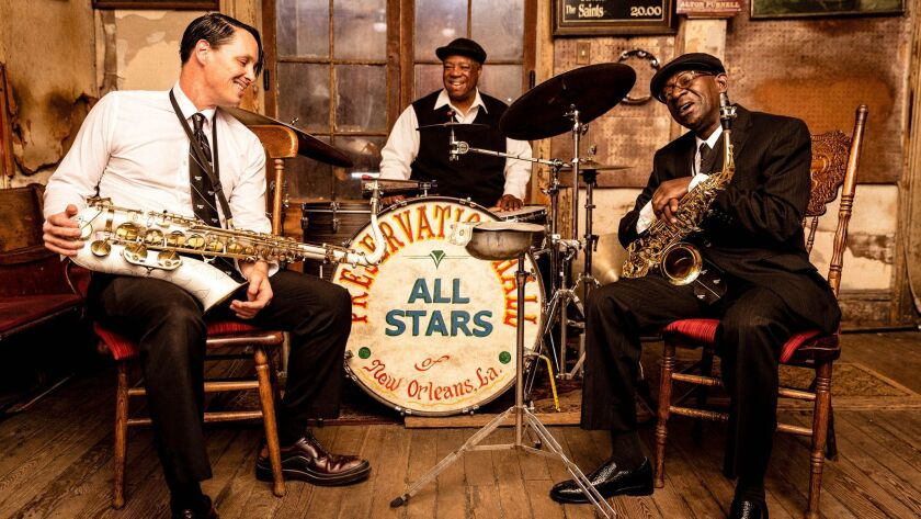 Preservation Hall was founded in 1961 to protect traditional New Orleans jazz. Courtesy of New Orlea