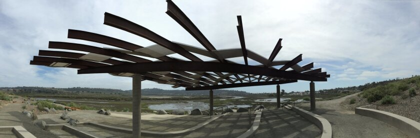 The Birdwing Open Air Classroom along the San Dieguito Lagoon opened in May 2014.