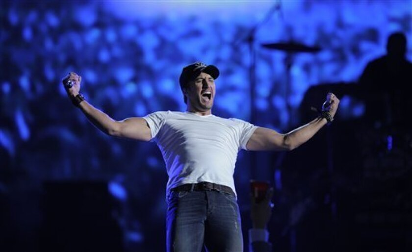 Country singer Luke Bryan
