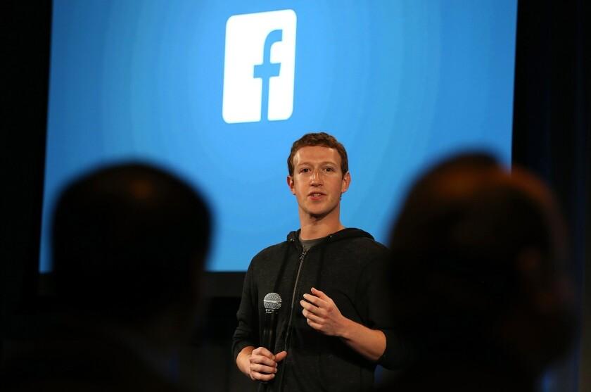 Facebook CEO Mark Zuckerberg has removed videos targeting public health officials.