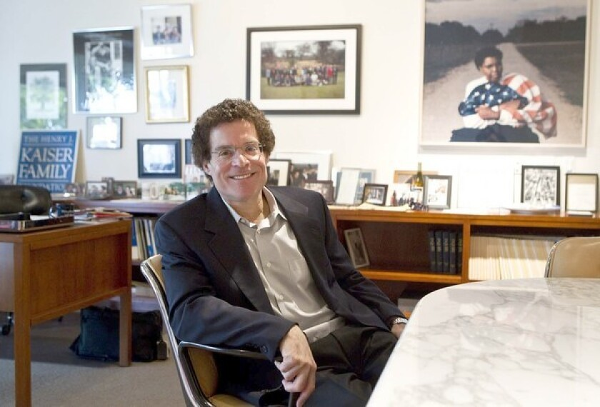 VALUED NAME: Drew Altman transformed the Kaiser Family Foundation from a sleep grant maker into a major nonpartisan healthcare information source.