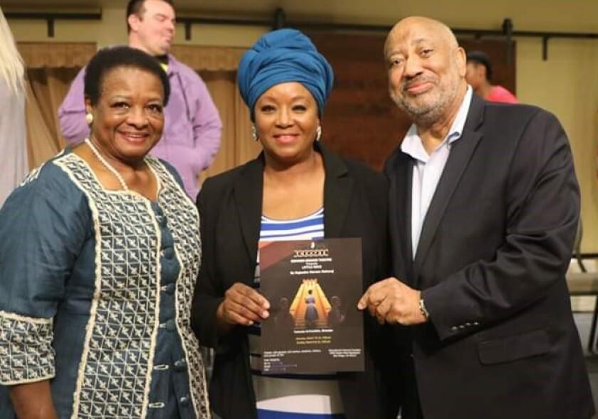 Dorothy Smith, Yolanda Franklin and Reginald Jones.