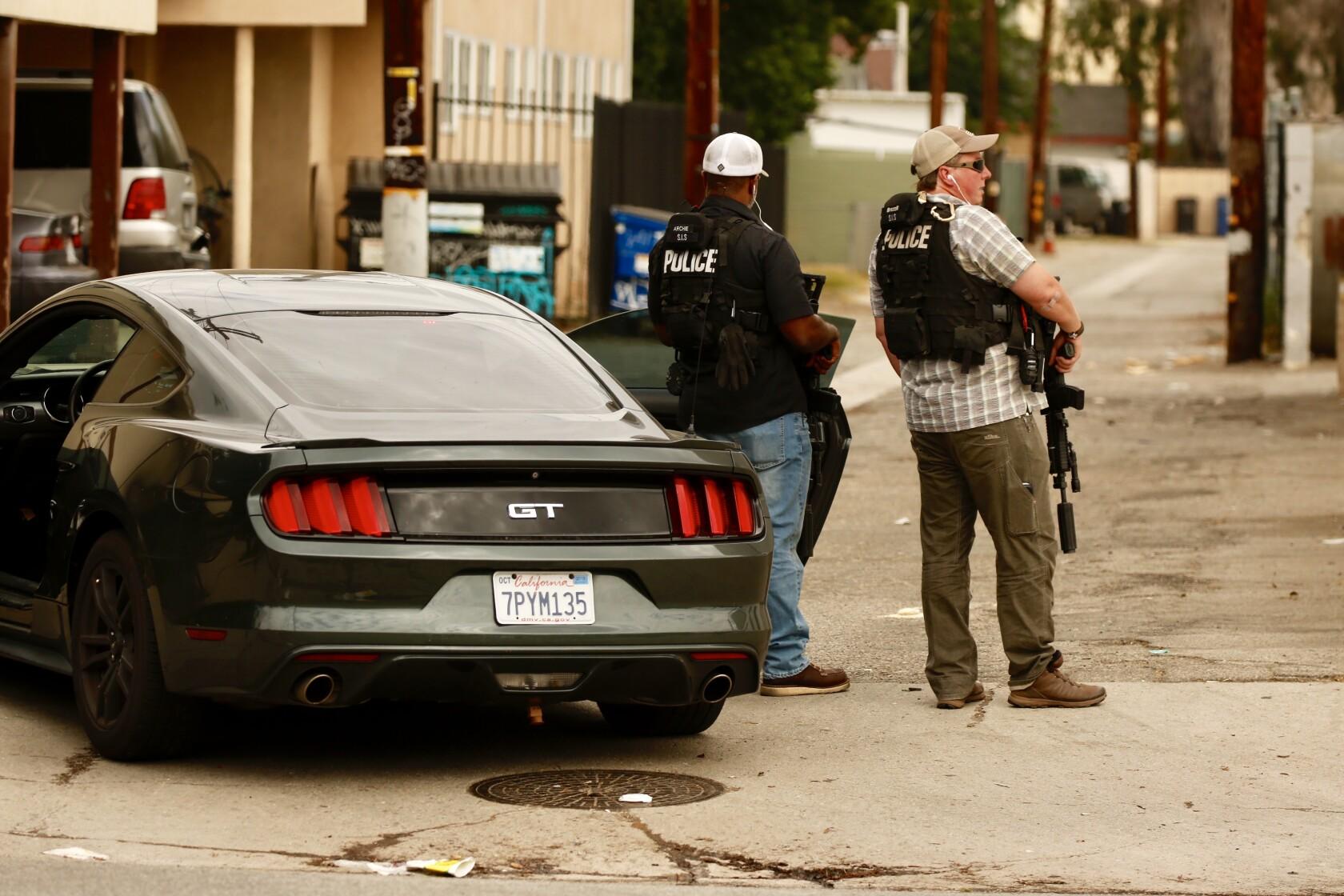San Fernando Valley shooting rampage leaves 4 dead
