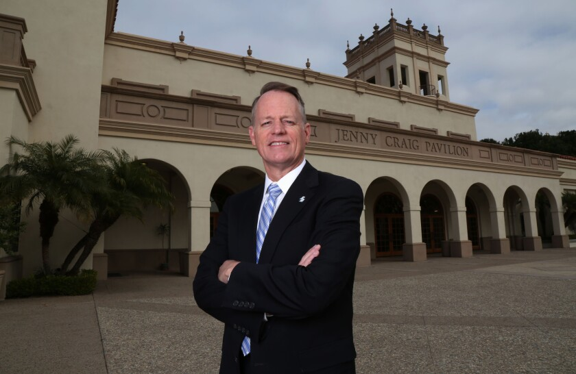 Bill McGillis achieved a career dream when he was named USD's athletic director.
