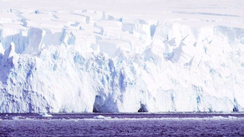 Giant icebergs have been reported breaking off Antarctica and eventually melting this year. Scientists say global warming has affected the continent significantly already.