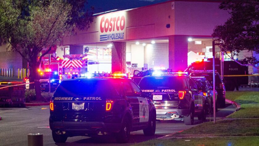 Costco shooting: LAPD officer was knocked out by attacker before