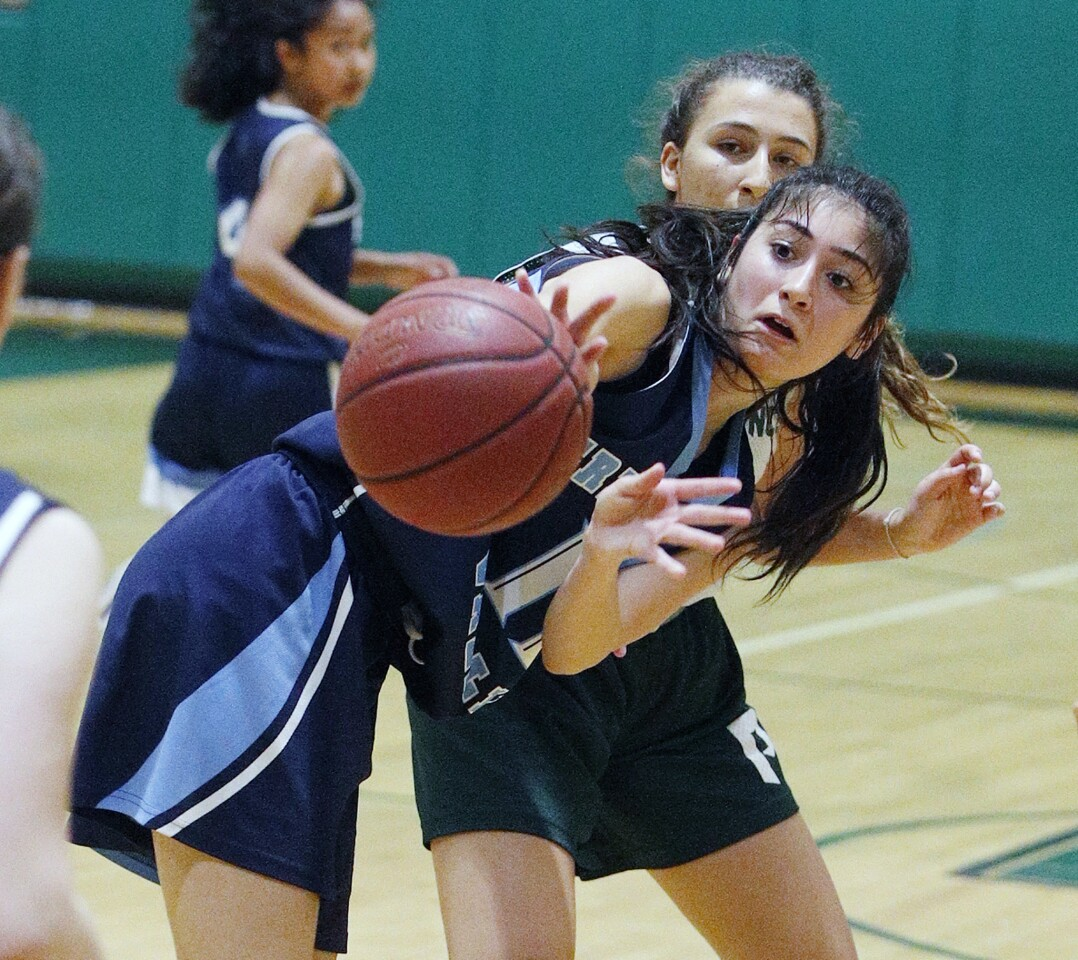 Photo Gallery: Summer league girls' basketball between Crescenta Valley at Providence