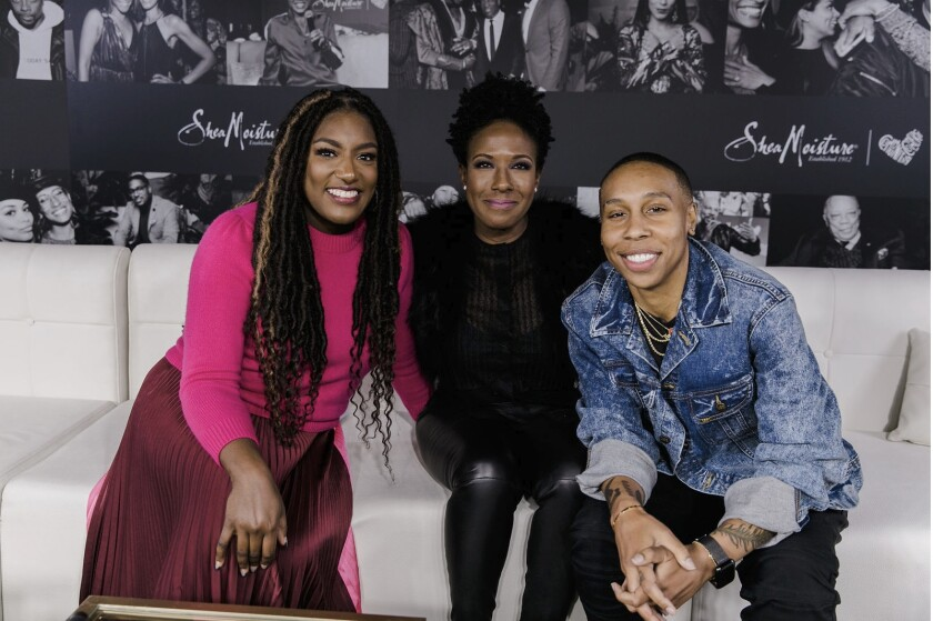 Macro's chief brand officer Stacey Walker King moderated a panel with Sundial Brands CEO Cara Sabin and Emmy-winner Lena Waithe in the Macro Lodge at the 2020 Sundance Film Festival.