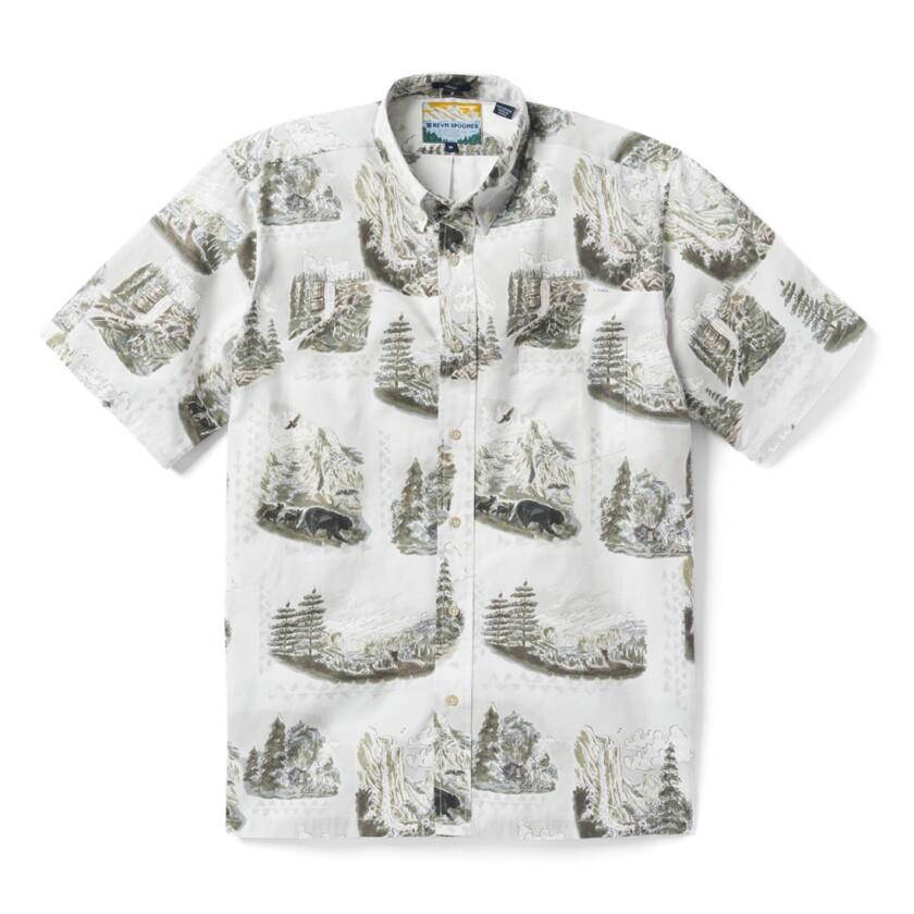 Reyn Spooner's Yosemite shirt
