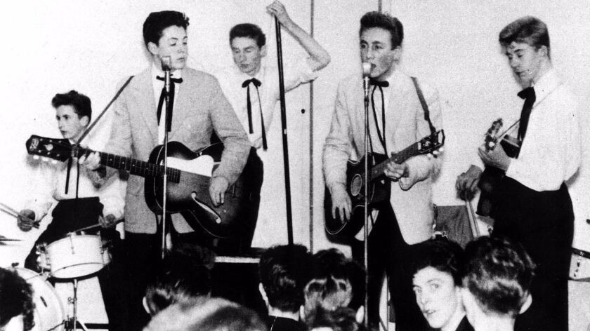 BEATLES FORMER MEMBER OF THE QUARRYMAN DIES