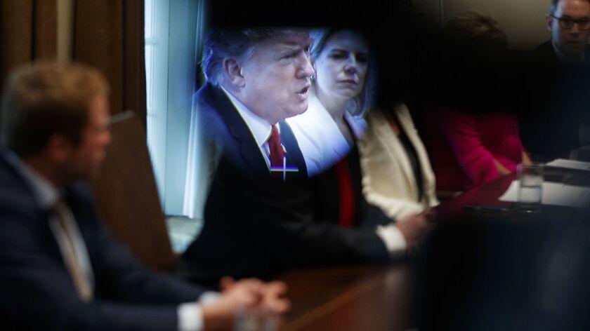 Donald Trump, Kirstjen Nielsen
