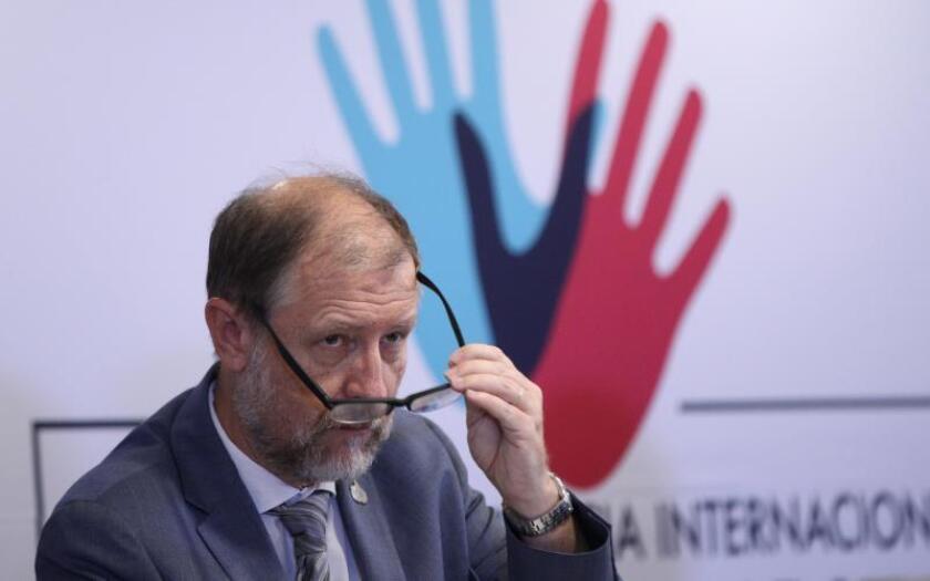 El representante en México del Alto Comisionado de las Naciones Unidas para los Derechos Humanos (ONU-DH), Jan Jarab. EFE/Mario Guzmán/Archivo