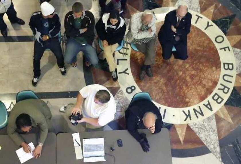 Burbank Council meeting to choose clerk, treasurer underway