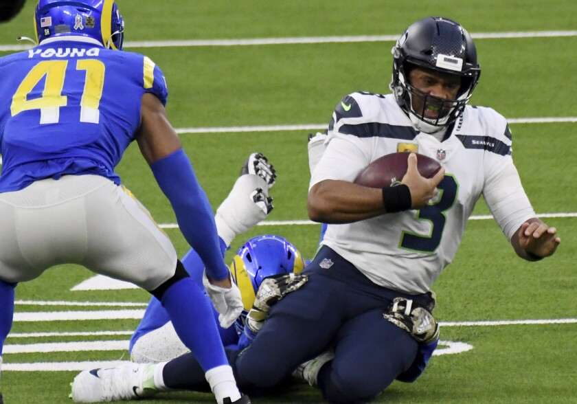 Russell Wilson Struggles As Seahawks Lose 23 16 To Rams The San Diego Union Tribune