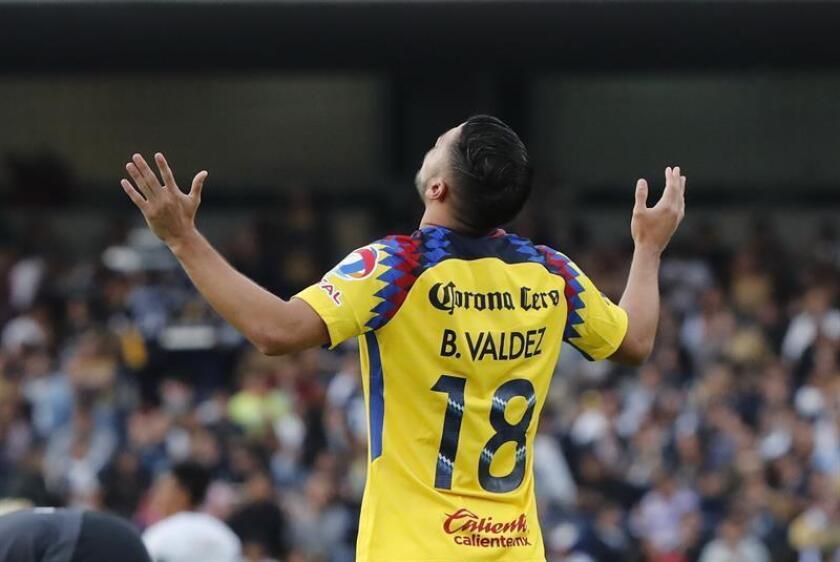 El jugador de América Bruno Valdez. EFE/Archivo