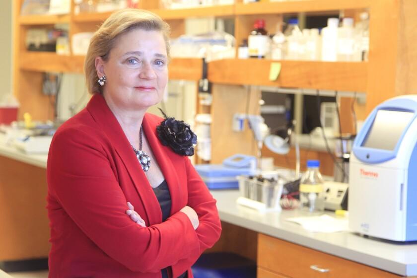 Histogen CEO Gail Naughton.
