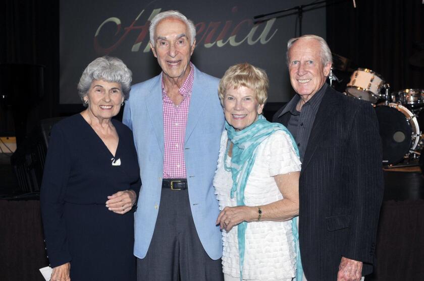 Joyce and Jere Oren, Jeanie Rose-Wood and Ken Wood