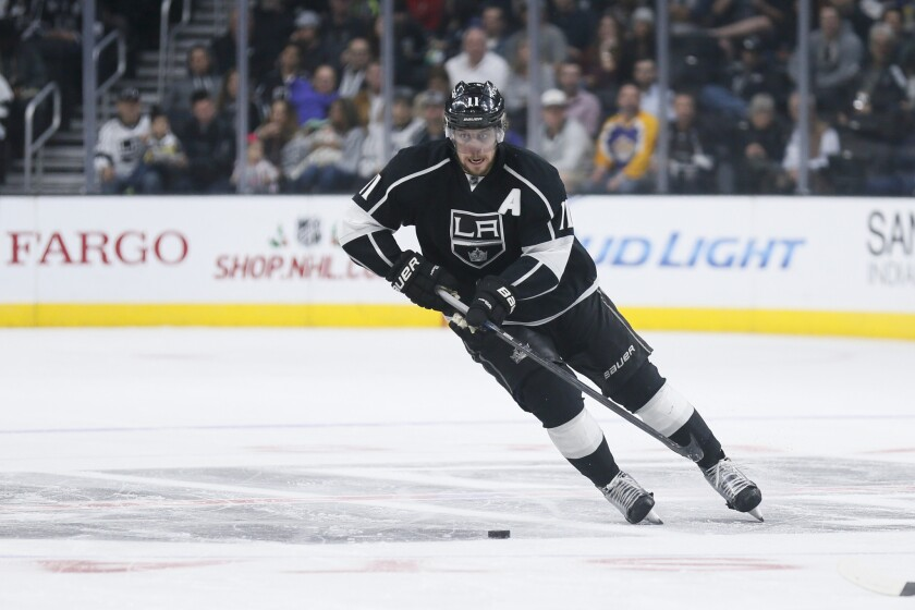 Anze Kopitar has just six goals and seven assists through 28 games for the Kings.