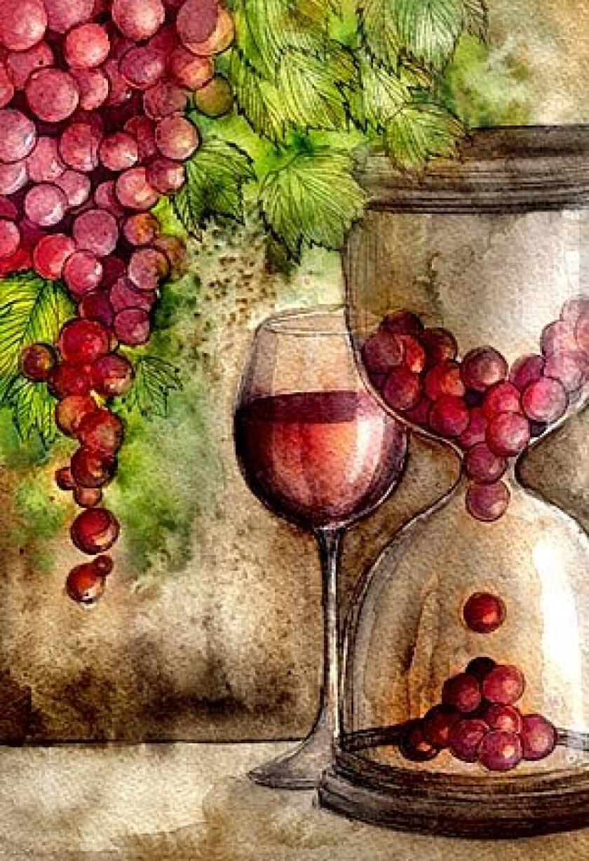 Grape harvest delayed