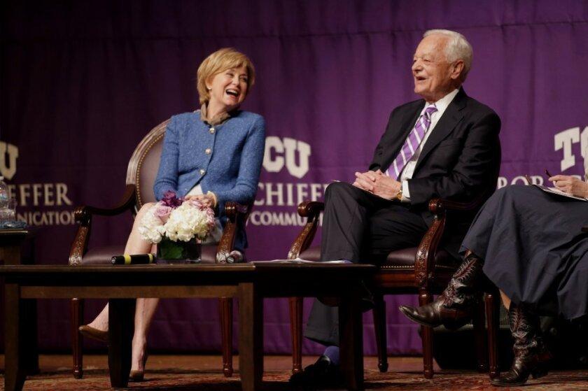 Jane Pauley and Bob Schieffer
