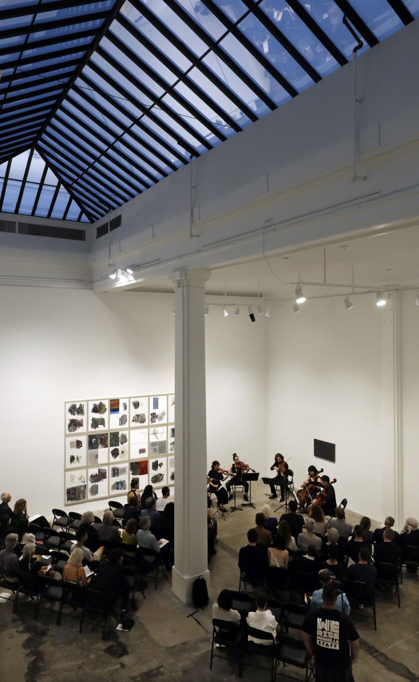 Monday Evening Concerts at art gallery Hauser & Wirth.