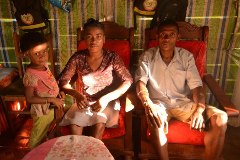 Madagascan farmer Gilbert Rakotomalala was given work as a forest patroller by a local organization