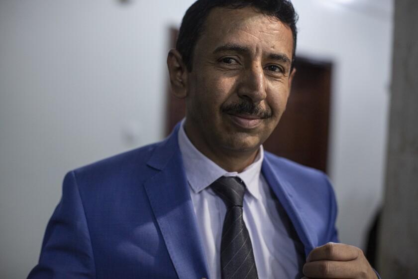 Mohammed Saleh Bin Adio, the governor of Shabwa province, Yemen.