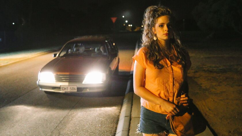 """Ashleigh Cummings as Vicki Maloney in the film """"Hounds of Love."""""""