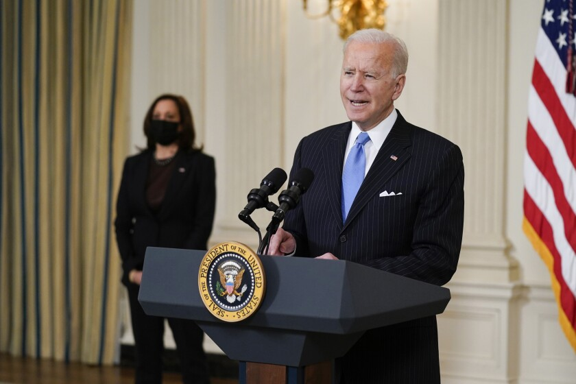 President Joe Biden and Vice President Kamala Harris