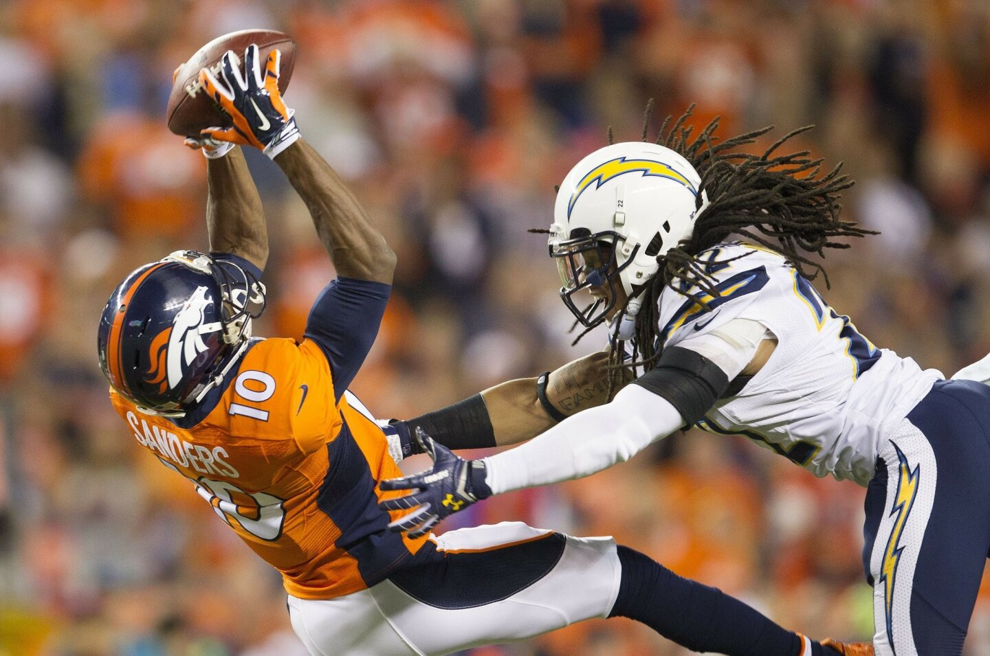 Chargers vs Broncos 10/23/14