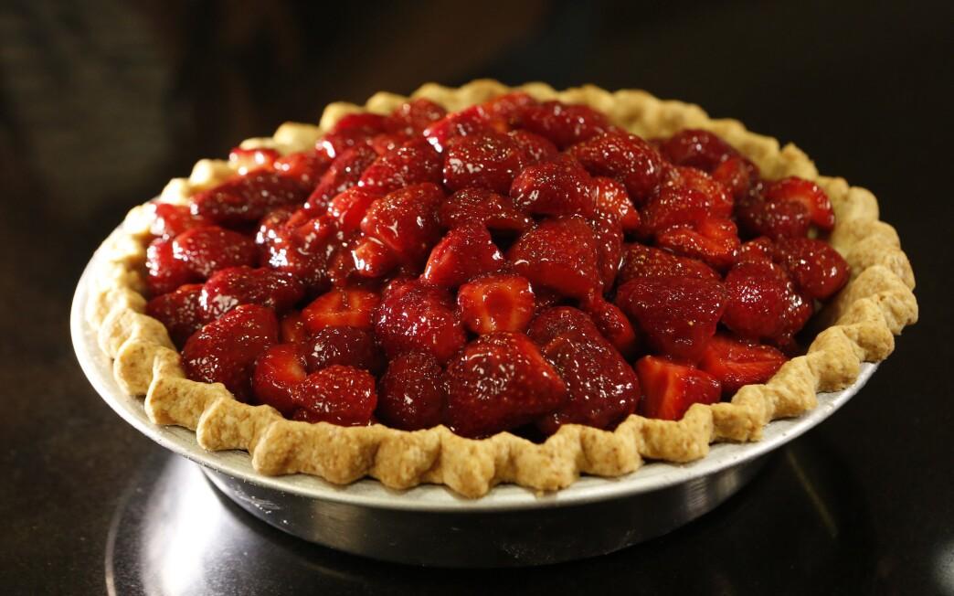 Vintage strawberry pie Recipe - Los Angeles Times