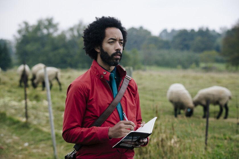 """Wyatt Cenac stars in the science-fiction comedy """"People of Earth."""""""