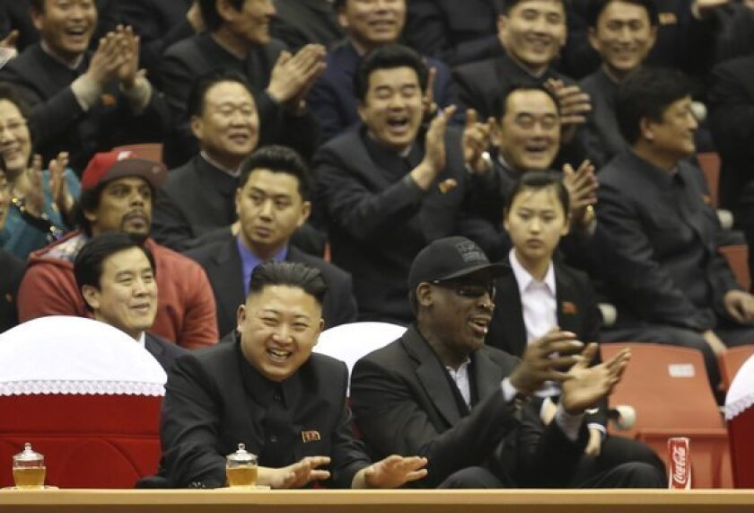 Dennis Rodman asks buddy Kim Jong Un to release Kenneth Bae