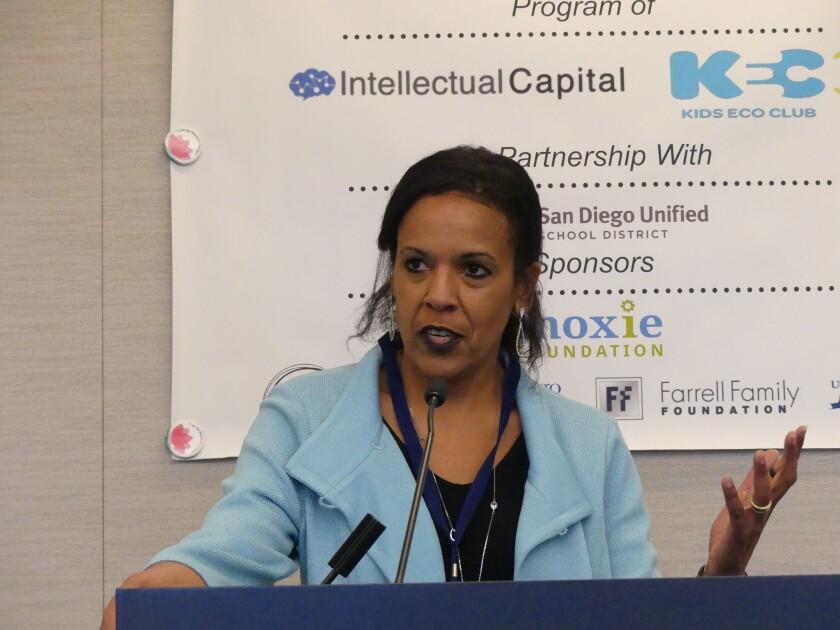 Karen Nelson, president of J. Craig Venter Institute