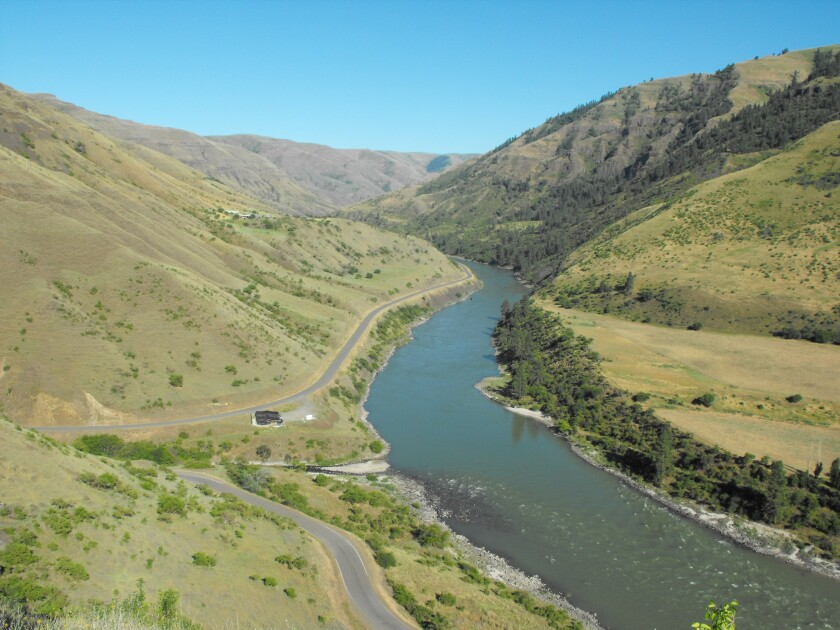 The Coopers Ferry site in Idaho.