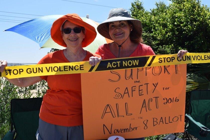 Del Mar resident Penny Abell and Kensington resident Nancy Torns