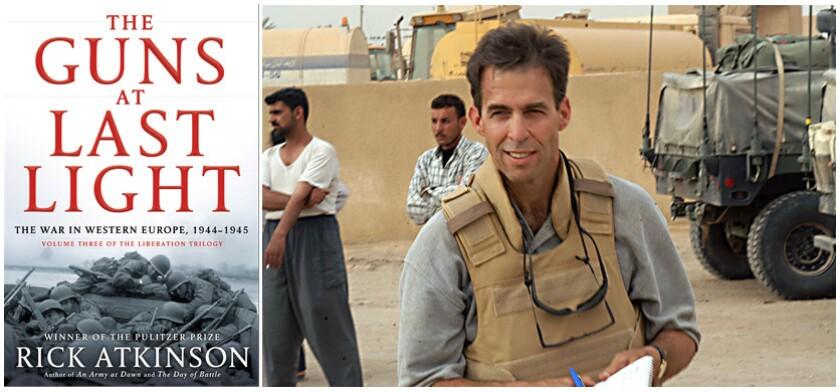 Writer-reporter Rick Atkinson in Karbala, Iraq, in April 2003.