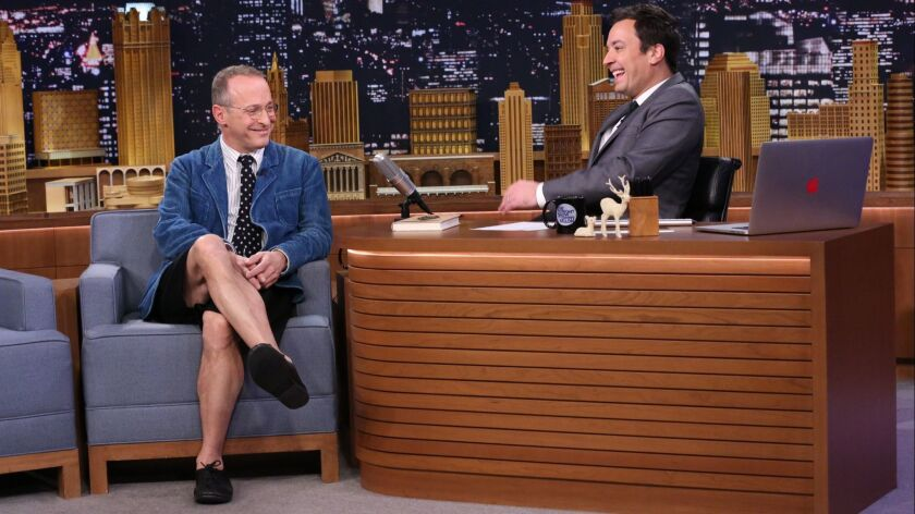 "David Sedaris on ""The Tonight Show With Jimmy Fallon"" in 2014."