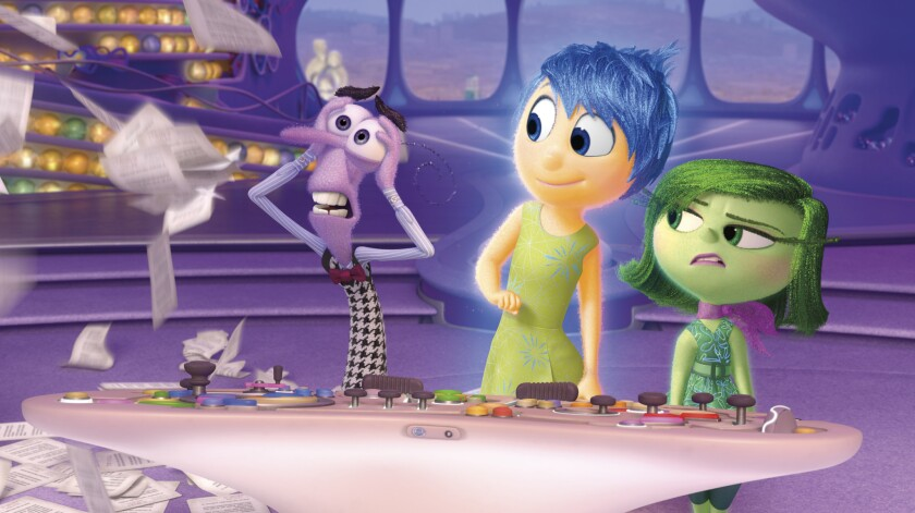 """A scene from the 2015 animated movie """"Inside Out."""""""