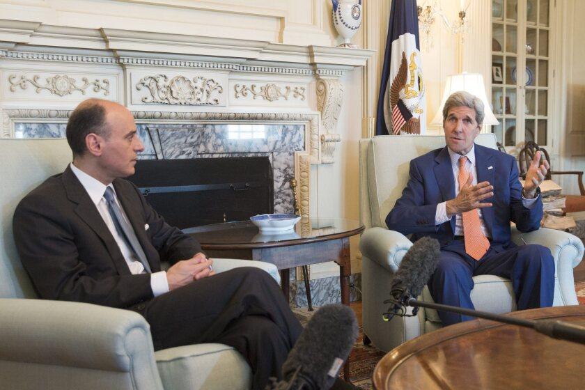 John Kerry, Saudi Foreign Minister Adel Jubeir