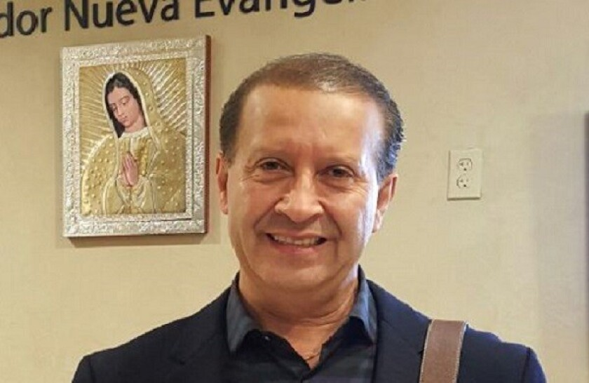 Noel Díaz is the only Los Angeles resident traveling with the pope from Vatican City to Mexico.