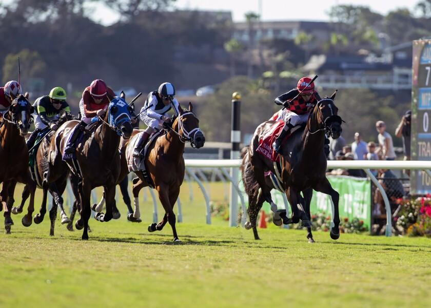APphoto_Del Mar Horse Racing